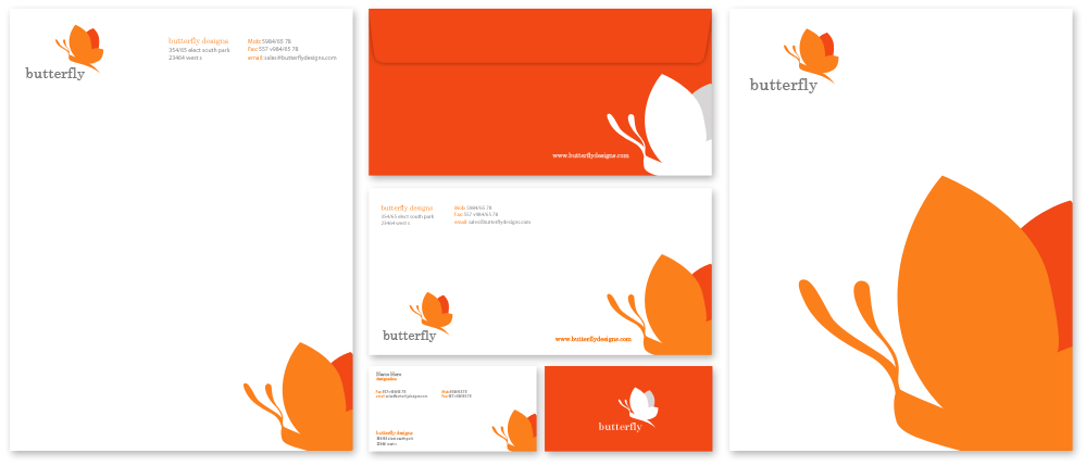 Business Stationery Design Services