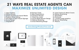 Real Estate Unlimited Graphic Design